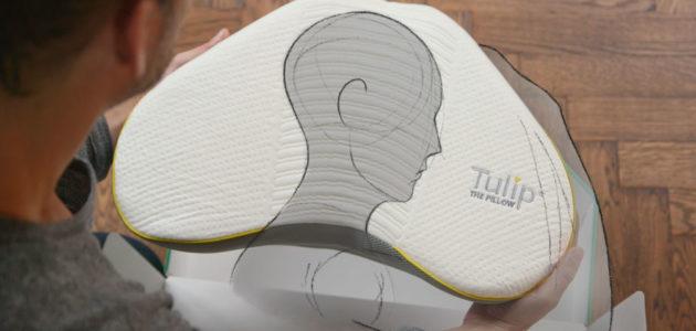 Tulip kussen United Comfort Industries Jeroen Nauta kussenontwerp proces ontwerpen kussens